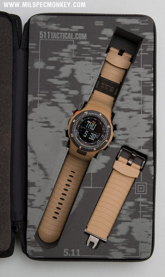 511 TACTICAL FIELD OPS WATCH Rugged watch with ballistic