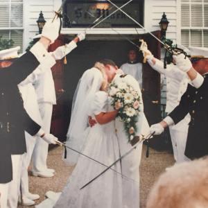 Tammy and Bill's wedding