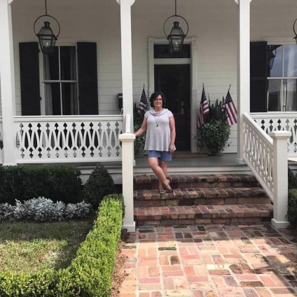 Nancy Murphree Davis at her new home