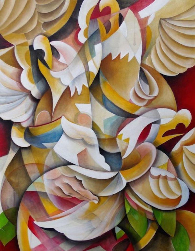 Death or Glory, 2018 Panel 1: Acrylic on Canvas