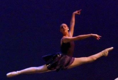 Kathryn dancing, 2008
