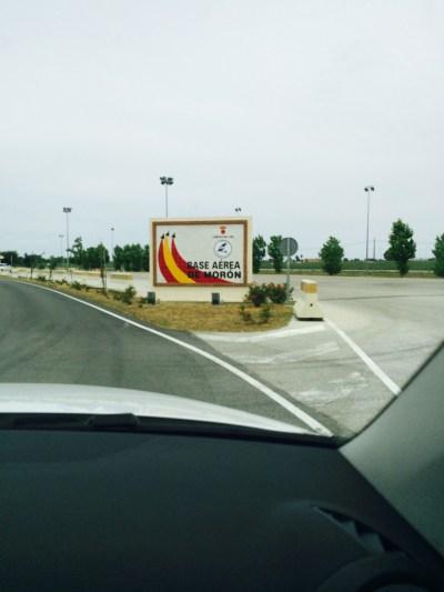 Base Area De Moron in Spain