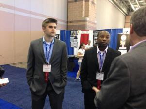 MILSPRAY's Mechanical Engineer & Physicist, Christian Steinmetz and Manufacturing Technician, Scheron Schley speaking with Jeff Callahan
