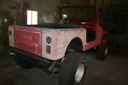 Before Tough Coat- 1981 Jeep