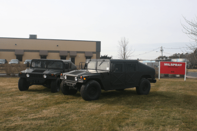HUMVEE Voorhees Police Department