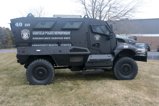 Mine Resistant Ambush Protected (MRAP) Vehicle | Garfield Police Department