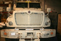 Mine Resistant Ambush Protected (MRAP) Vehicle Paramus - Before