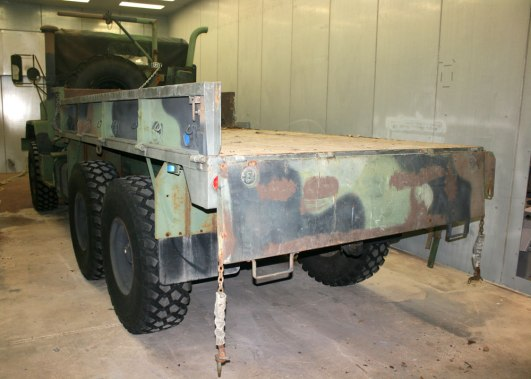 Howell Police 5 Ton Truck (before)