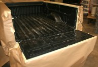 Bed Liner Tough Coat Before