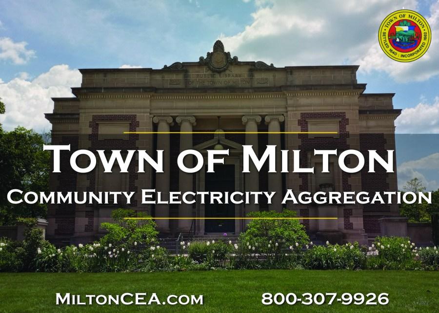 Milton postcard
