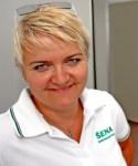 Andrea Blagoevova greenkeeper