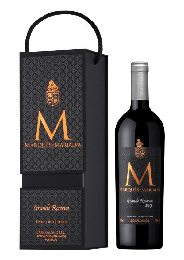 punane vein kingituspakendis