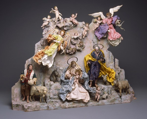 Collection Neapolitan Crche Nativity Scene