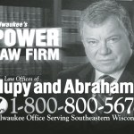 Well known actor William Shatner in new Hupy & Abraham, S.C. TV ads