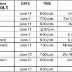 MPS 2010 high school graduations scheduled