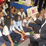 The 'Be A Reader' tour made its stop at Milwaukee Academy of Science