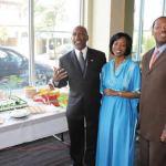 Alderman Ashanti Hamilton and Alderman Joe Davis, Sr. co-hosted a documentary film screening