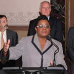 Gwen Moore hosts National Voter Registration Day Press Conference