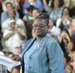 Cong. Gwen Moore commemorates Labor Day, and speaks at opening of DNC