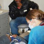 Hundreds of students get dental checks