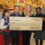 Roundy's Foundation donated $26,500 to five Milwaukee non-profit organizations