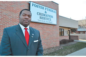 Bryan Foster, president and CEO of Foster Funeral & Cremation Service