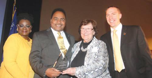 Spencer-Coggs-Lifetime-of-Service-Award-Gwen-Moore-Marlene-Ott-Chris-Larsen-Democratic-party