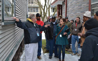 Lead abatement workers and contractors ask questions about the best ways to contain lead dust and chips when making a home safe