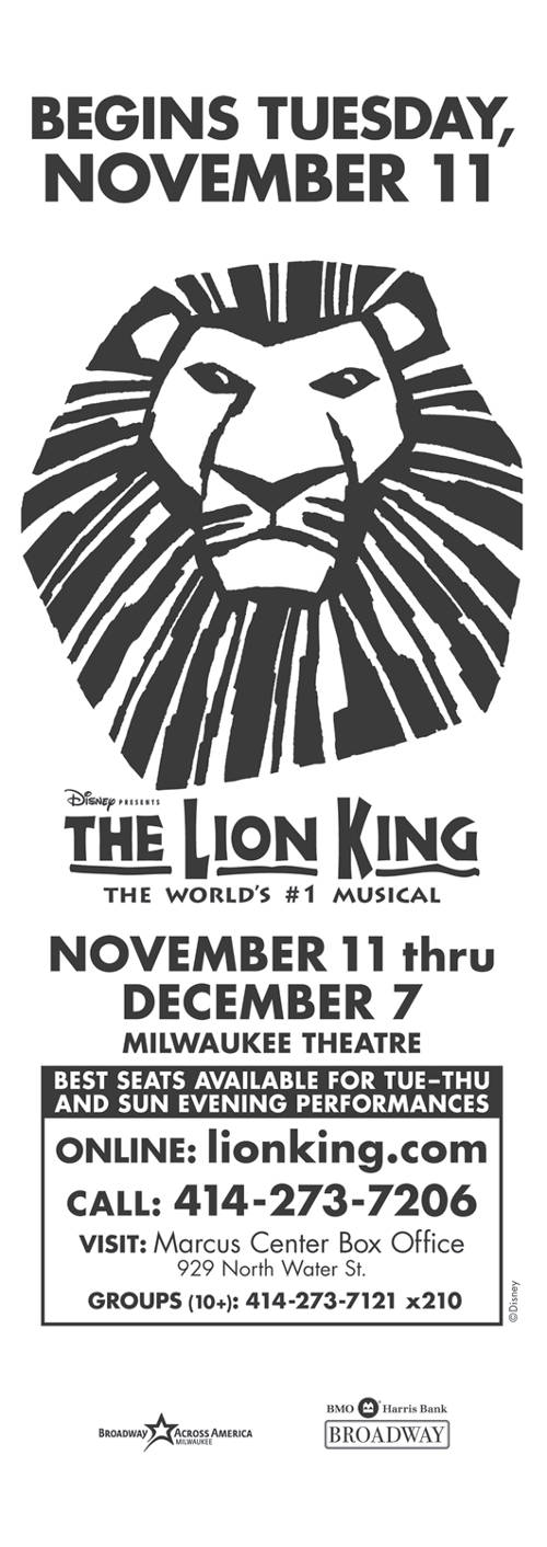 lion-king-musical-promotion-flyer