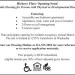 Affordable Housing for Persons with Physical or Developmental Disabilities