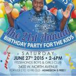 Homer Blow Presents The 21st Annual Birthday Party for The Kids