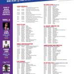 Summerfest Headliners June 24 – July 5