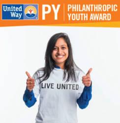 Gopika SenthilKumar is the United Way's first Philanthropic Youth (PY) Award winner.