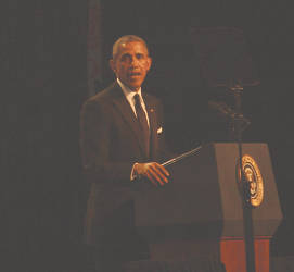 The Congressional Black Caucus Foundation 45th Annual Legislative Conference was held at the Walter E. Washington Convention Center, Washington, D.C. September 16 -20, 2015. The theme of the conference was With Liberty and Justice for all? The President of the United States, Barack Obama was the keynote speaker during the Phoenix Awards Dinner. Photo by Urban Media News.