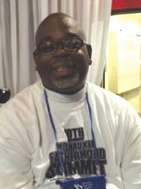 Dell Williams is program director at the Milwaukee Fatherhood Initiative. Photo by Karen Stokes.