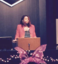 Dr. Felicia Robertson discusses health promotion and cervical cancer