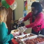 Concordia DYF Students and Faculty Share Holiday Meal – During School Hours