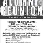 Milwaukee Public Schools Alumni Reunion Feb 23