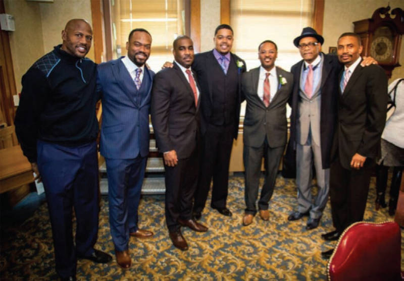 black-men-lock-arms-Mark-Wade-Russell-Stamper-II-Kalen-Haywood-Ashanti-Hamilton-Rahim-Islam-Sherman-Morton-Khalif-Rainey