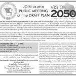 Public Meeting on Draft Plan for Vision 2050 Regional Planning
