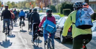 Bike to Work Week in Milwaukee 2014. Photos by Chris Aalid