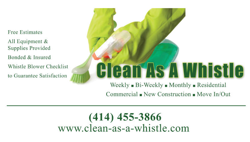 Clean As A Whistle Commercial and Residential Cleaning Service