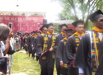 Morehouse Commencement Recessional (Photo by Karen Stokes)