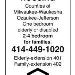 Affordable Housing in Milwaukee, Waukesha, Ozaukee, Jefferson Counties