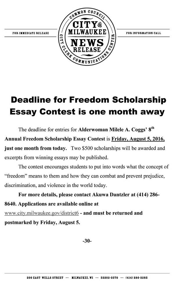 obama essay contest inaugaration