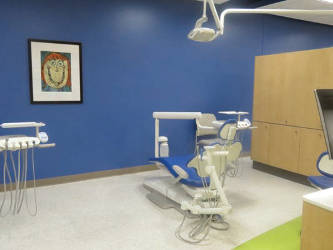 Inside the Children's Hospital Midtown dental clinic. (photo by Karen Stokes)