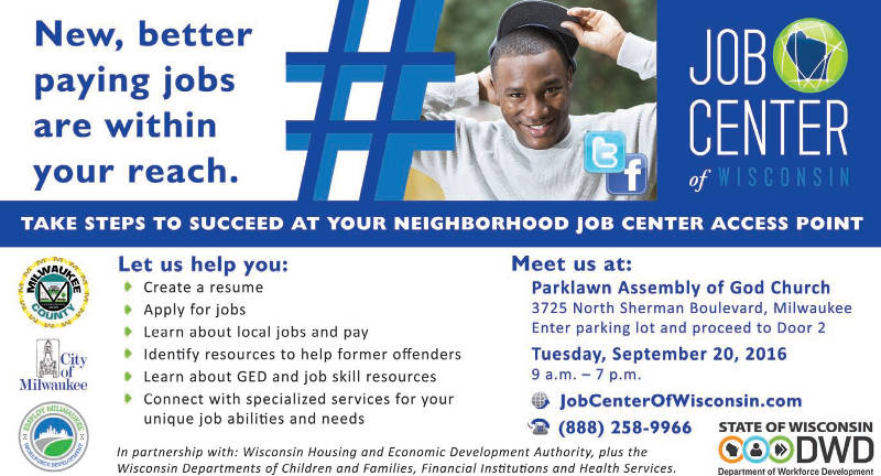 job-center-wisconsin-tuesday-september-20-2016