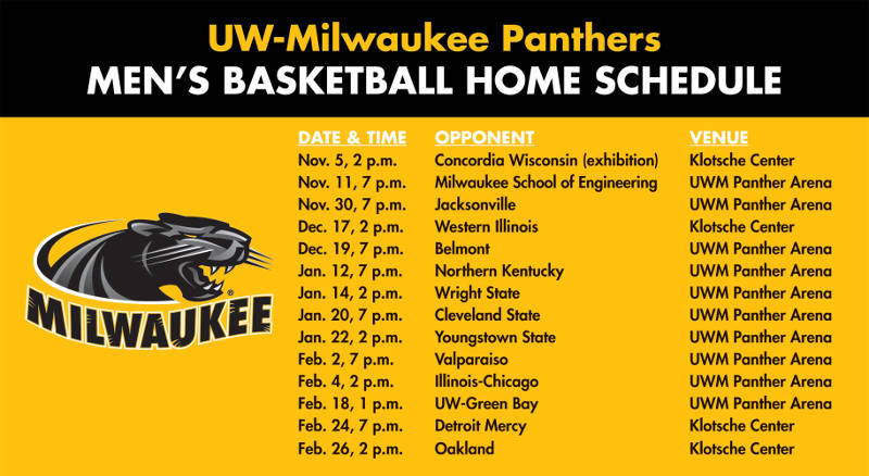 uw-milwaukee-panthers-mens-basketball-home-schedule-2016-2017