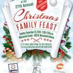 27th Annual Christmas Family Feast on Sun Dec 25th