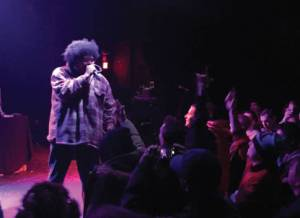 Afro: All Flows Reach Out (AFRO) is part of the 35-stop RA the Rugged Man tour. (Photo by Dylan Deprey)